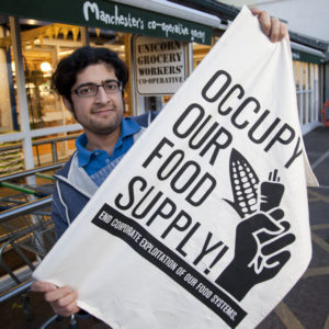 Occupy your food supply