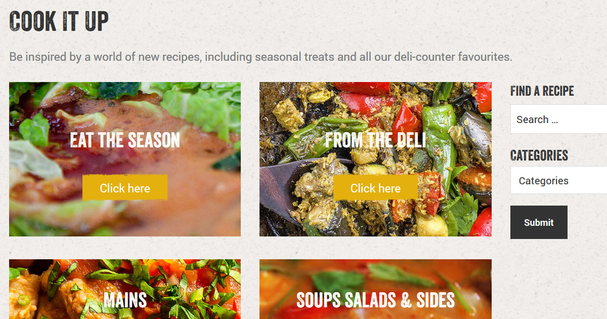 explore our wholesome tasty recipes unicorn grocery